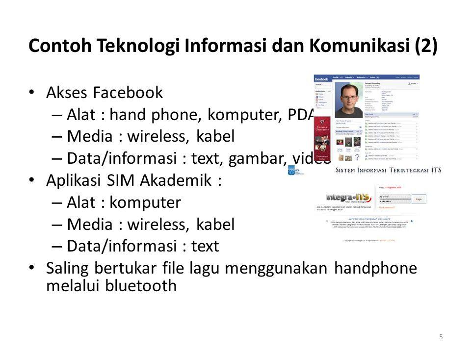 Contoh Teknologi Informasi dan Komunikasi (2)