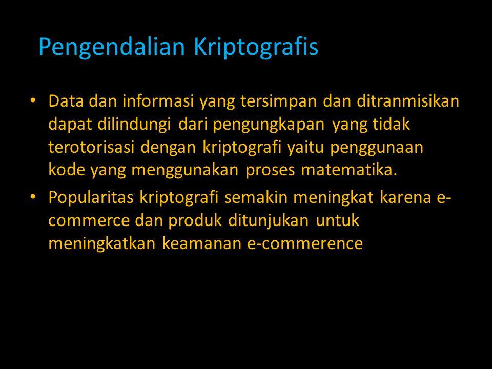 Pengendalian Kriptografis
