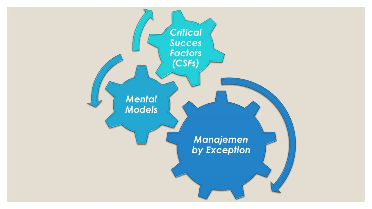 Manajemen by Exception Critical Succes Factors (CSFs)