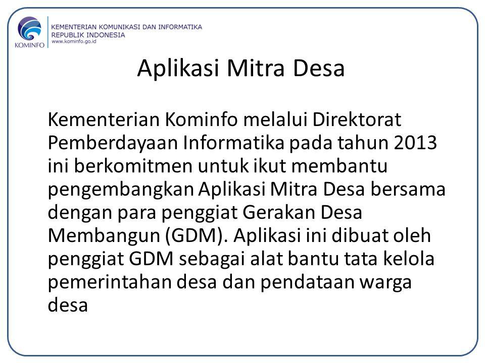 Aplikasi Mitra Desa