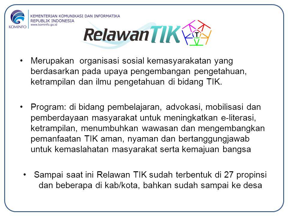 Merupakan organisasi sosial kemasyarakatan yang berdasarkan pada upaya pengembangan pengetahuan, ketrampilan dan ilmu pengetahuan di bidang TIK.