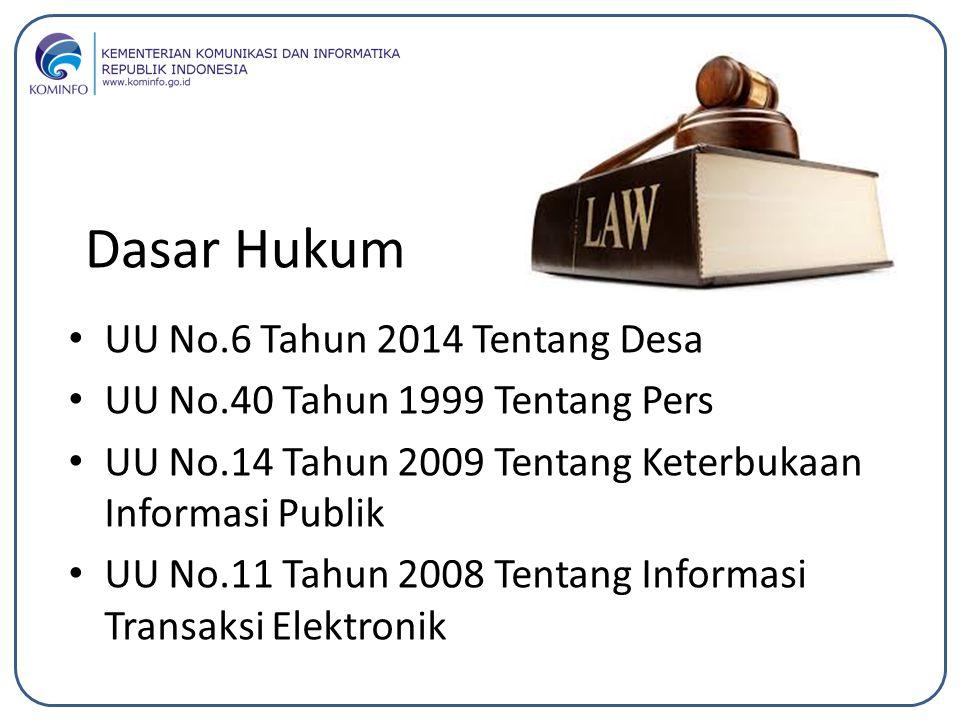 Dasar Hukum UU No.6 Tahun 2014 Tentang Desa