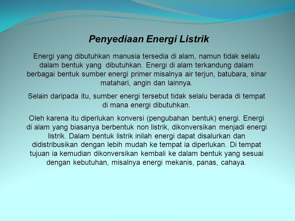 Penyediaan Energi Listrik
