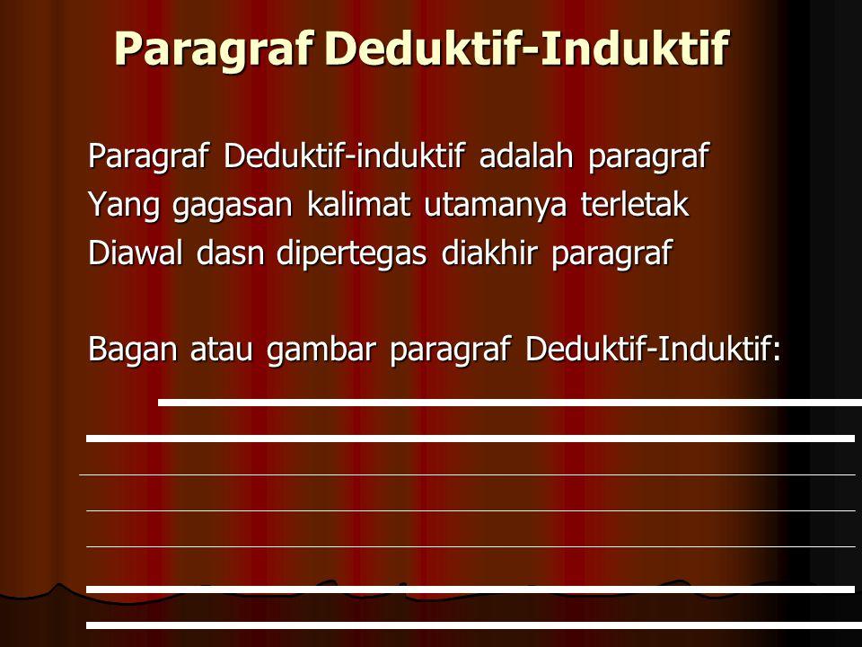 Paragraf Deduktif-Induktif