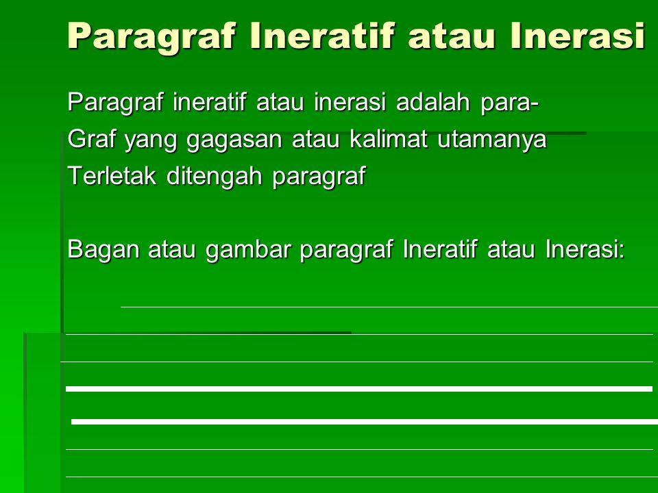 Paragraf Ineratif atau Inerasi