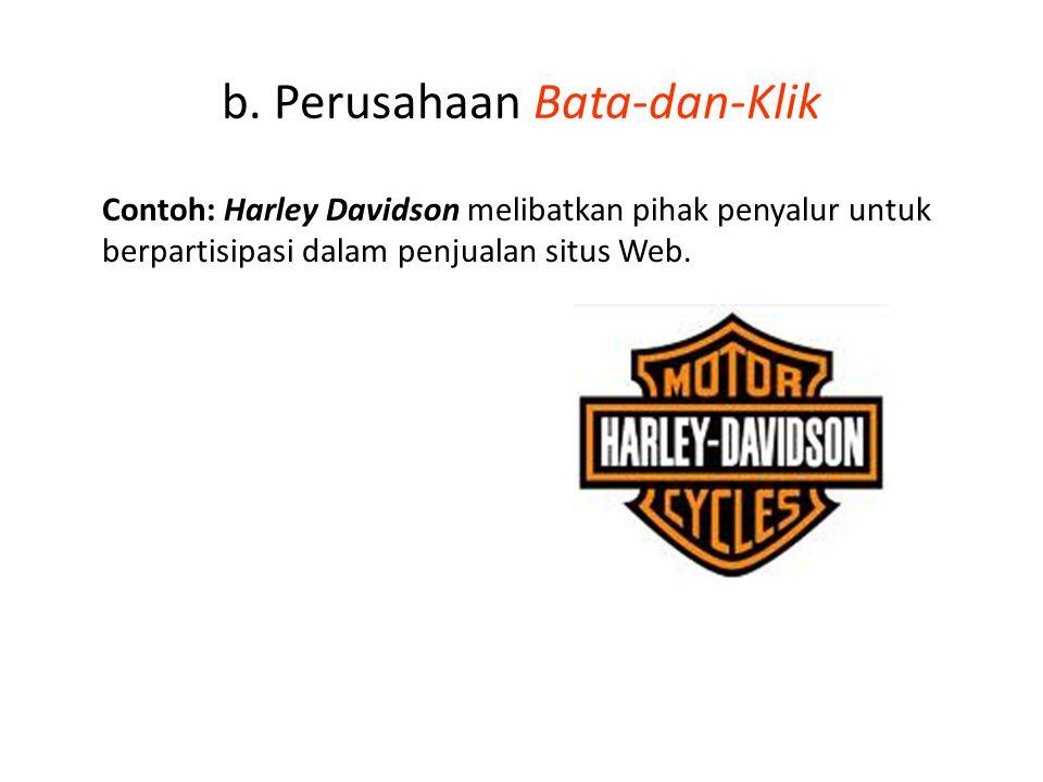 b. Perusahaan Bata-dan-Klik