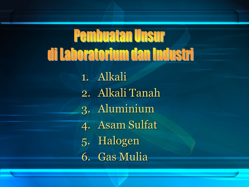 di Laboratorium dan Industri