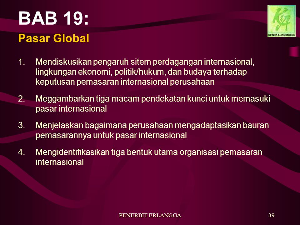 BAB 19: Pasar Global