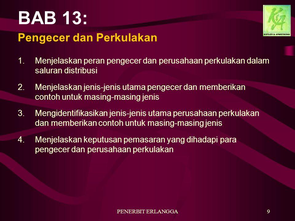 BAB 13: Pengecer dan Perkulakan