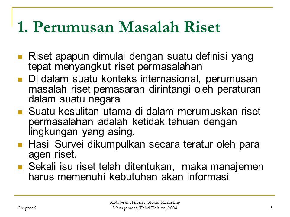1. Perumusan Masalah Riset