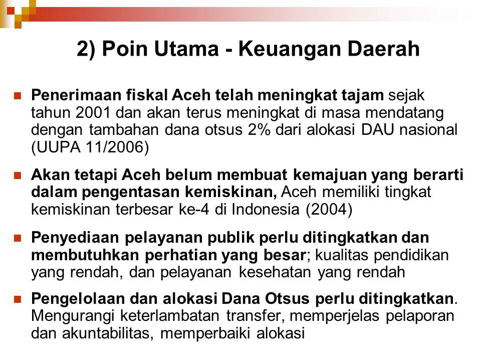 2) Poin Utama - Keuangan Daerah