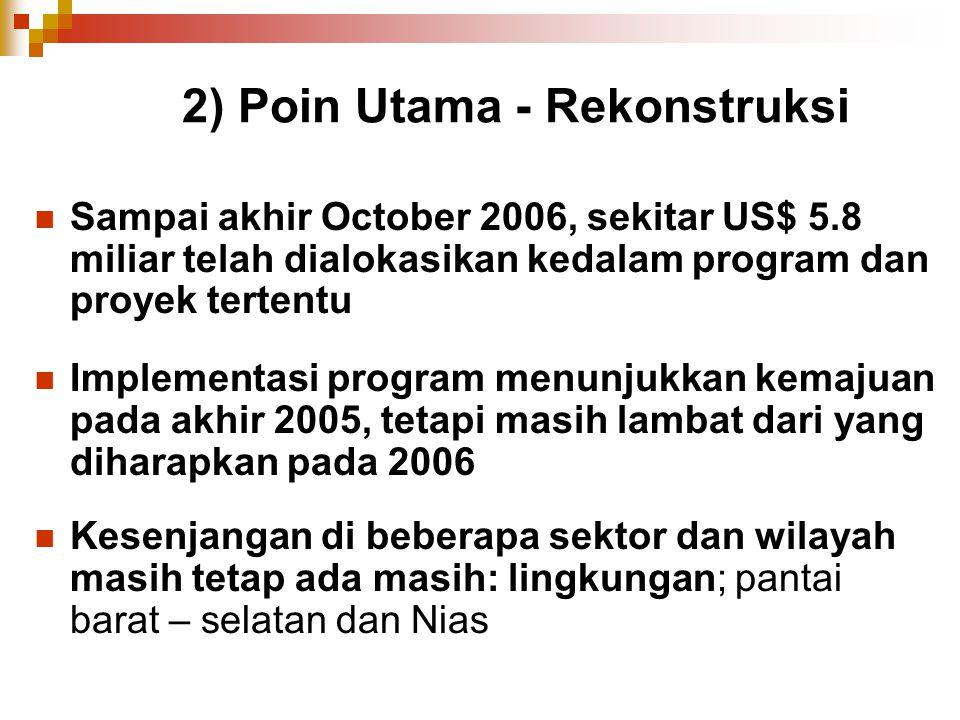 2) Poin Utama - Rekonstruksi