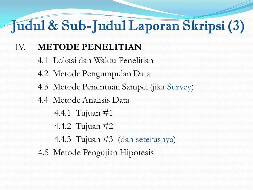 Judul & Sub-Judul Laporan Skripsi (3)