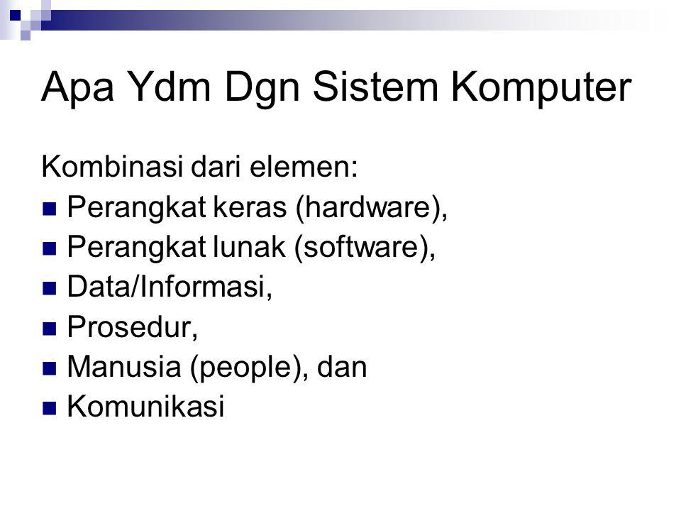Apa Ydm Dgn Sistem Komputer