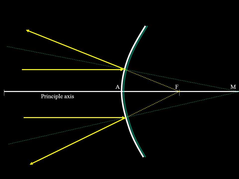 A F M Principle axis