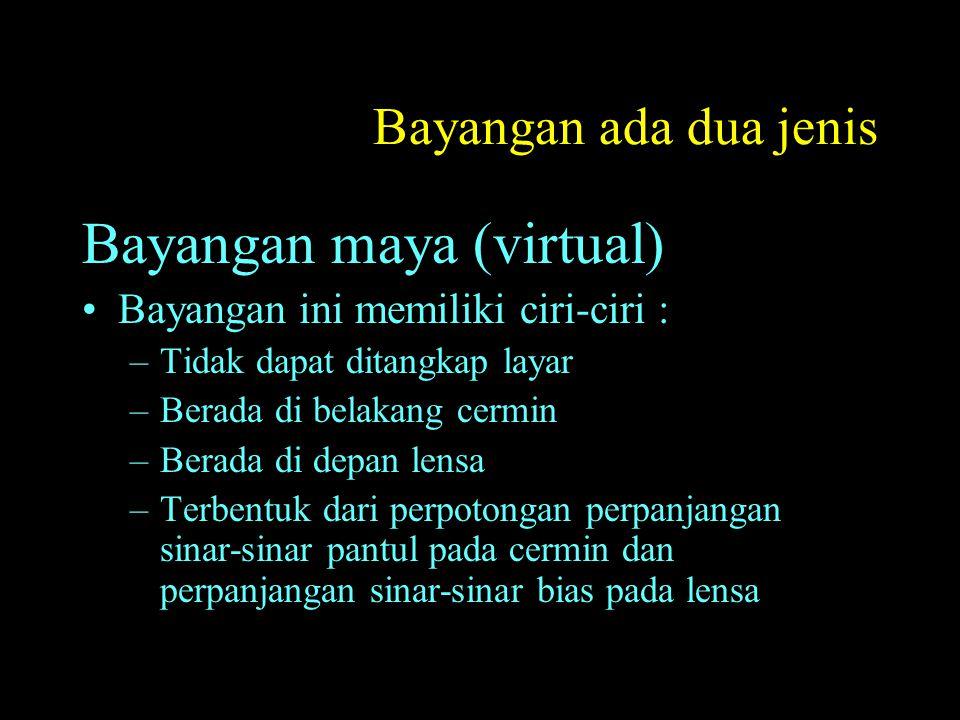 Bayangan maya (virtual)
