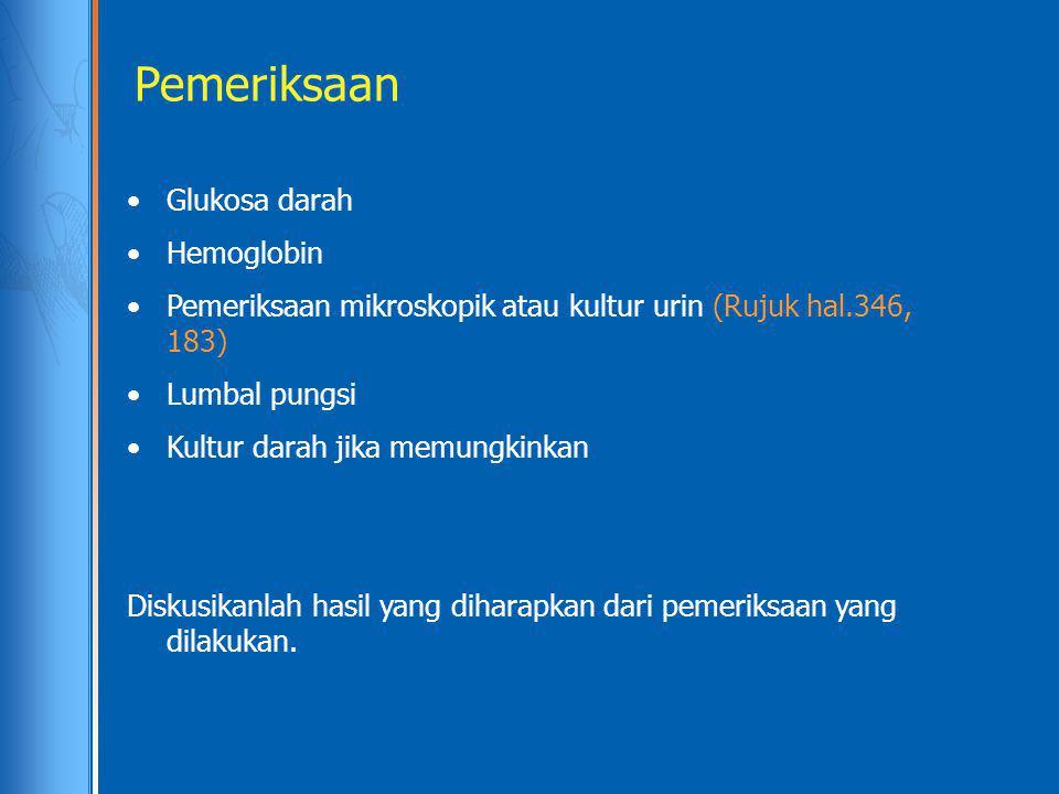 Pemeriksaan Glukosa darah Hemoglobin