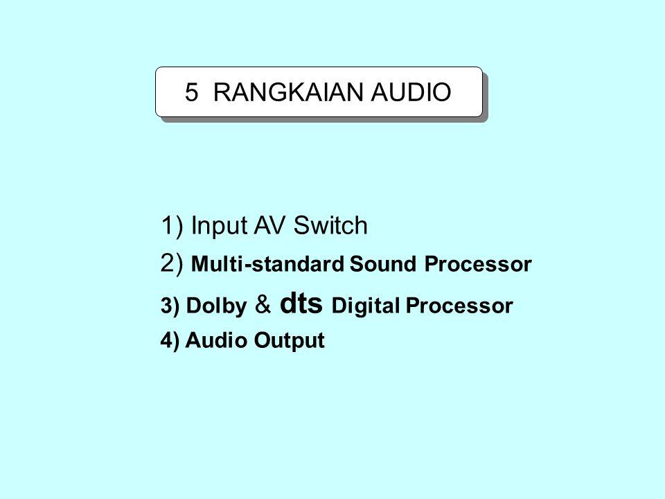 2) Multi-standard Sound Processor
