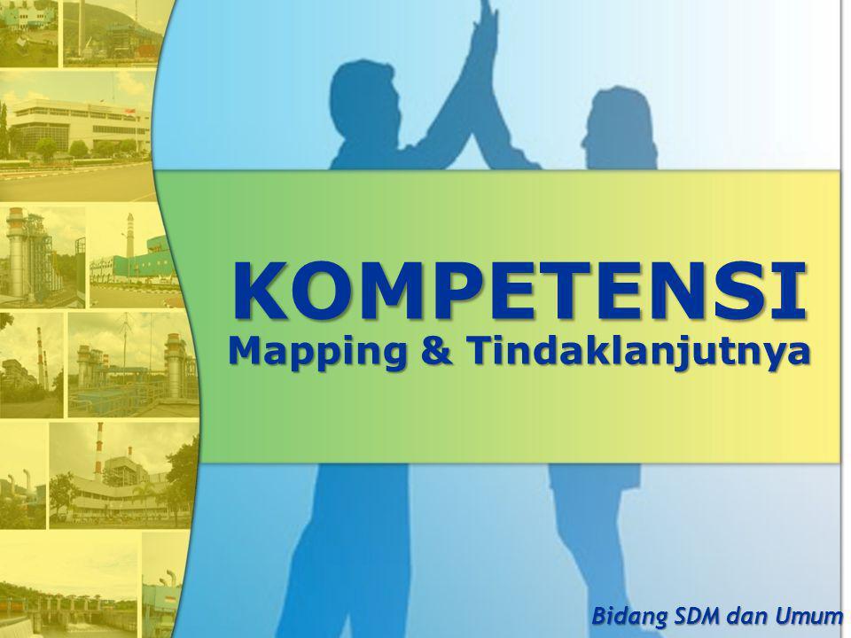 KOMPETENSI Mapping & Tindaklanjutnya