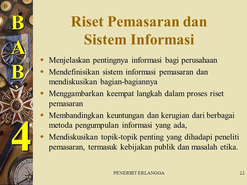 Riset Pemasaran dan Sistem Informasi