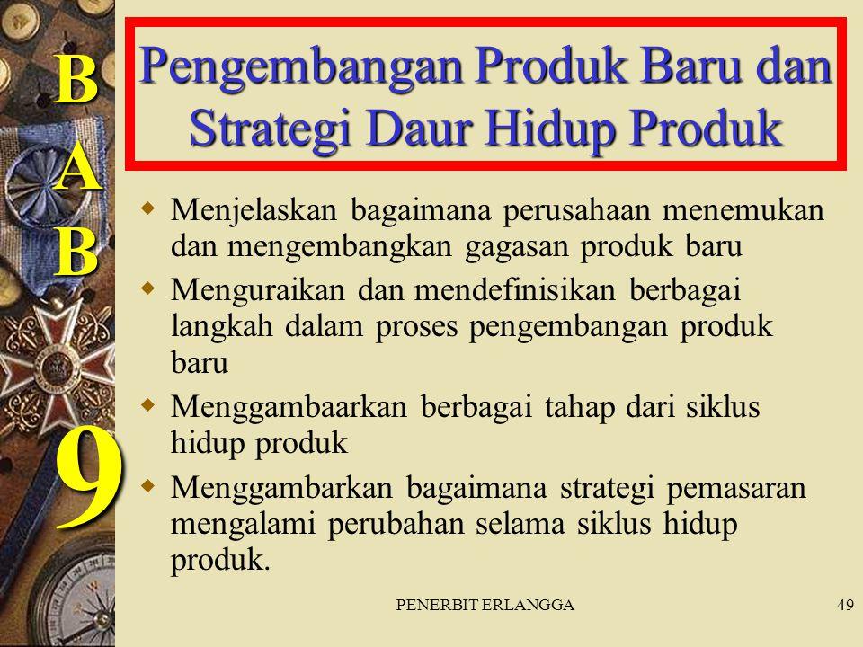 Pengembangan Produk Baru dan Strategi Daur Hidup Produk