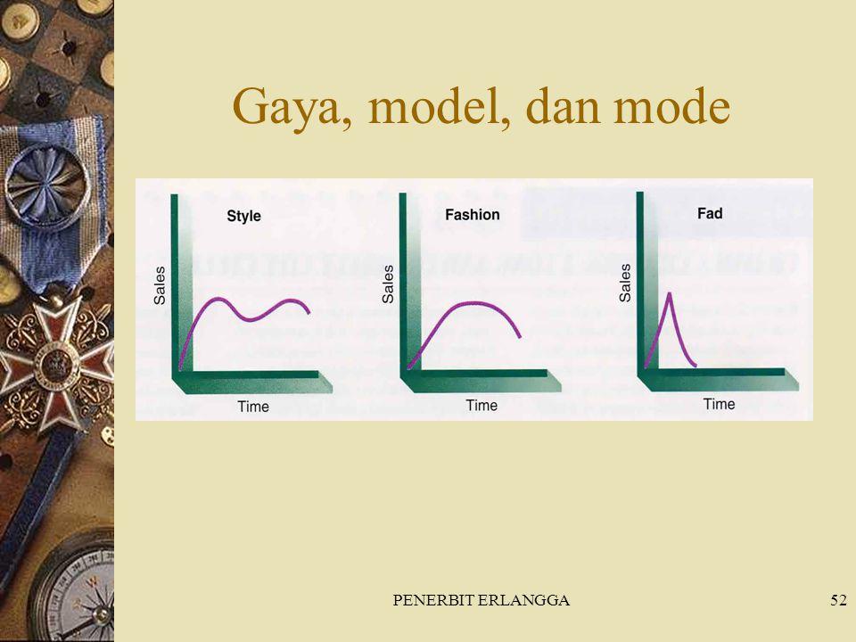Gaya, model, dan mode PENERBIT ERLANGGA