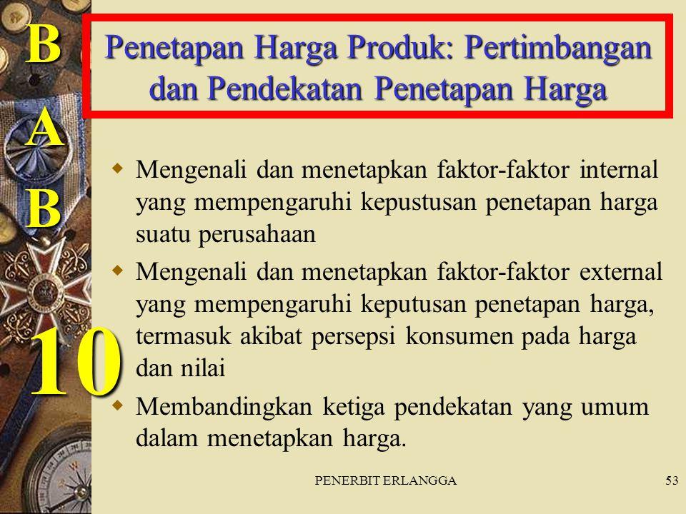 Penetapan Harga Produk: Pertimbangan dan Pendekatan Penetapan Harga