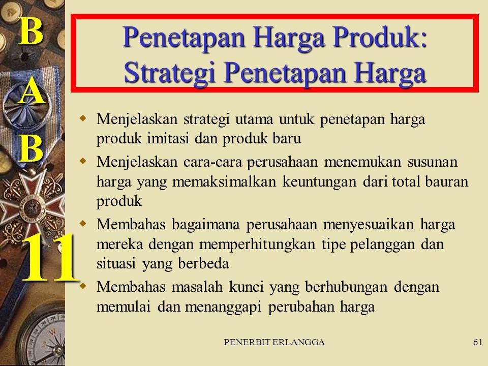 Penetapan Harga Produk: Strategi Penetapan Harga