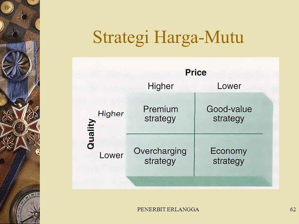 Strategi Harga-Mutu PENERBIT ERLANGGA