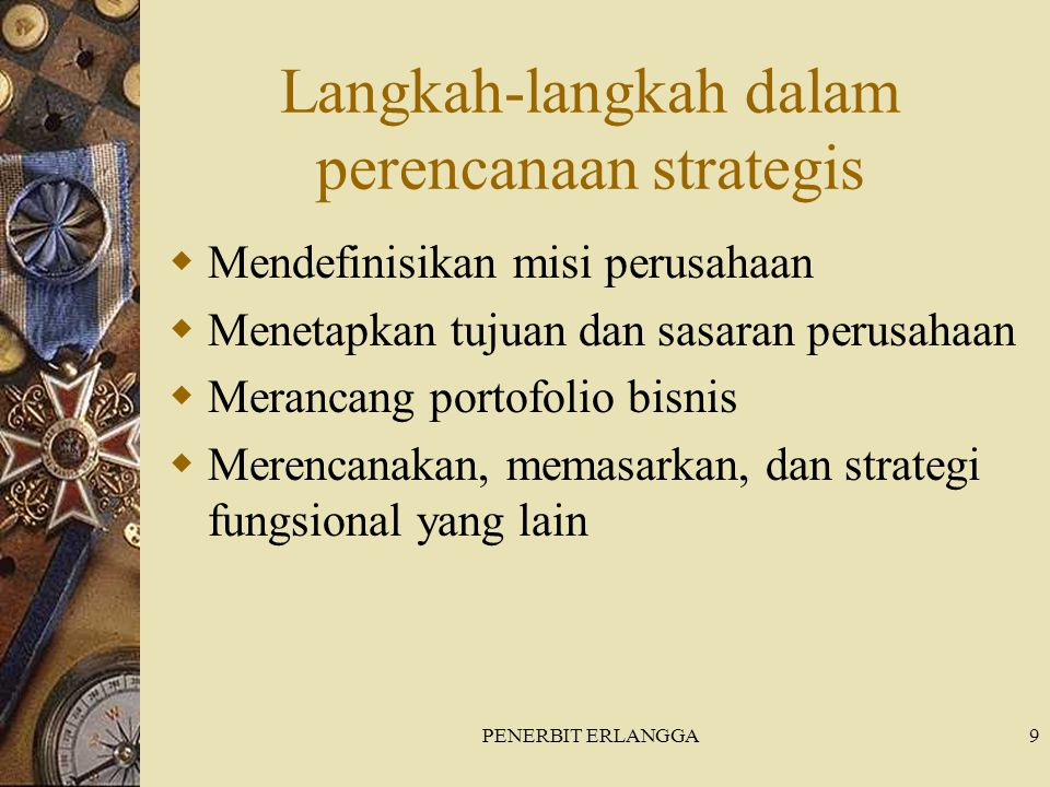 Langkah-langkah dalam perencanaan strategis