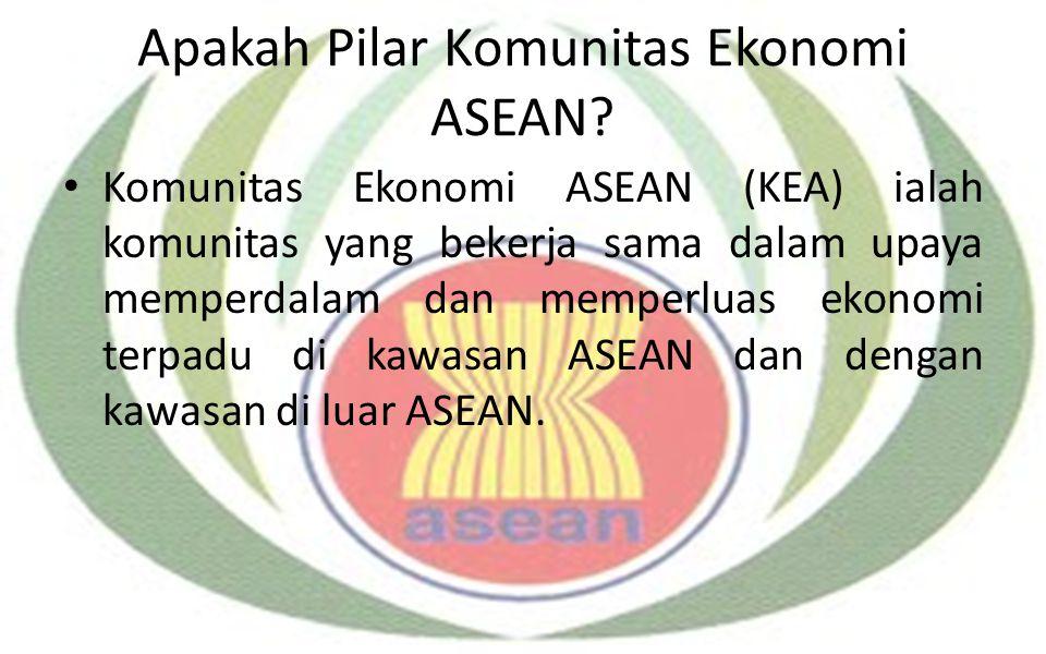 Apakah Pilar Komunitas Ekonomi ASEAN