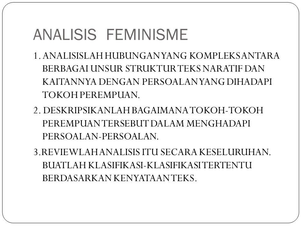 ANALISIS FEMINISME
