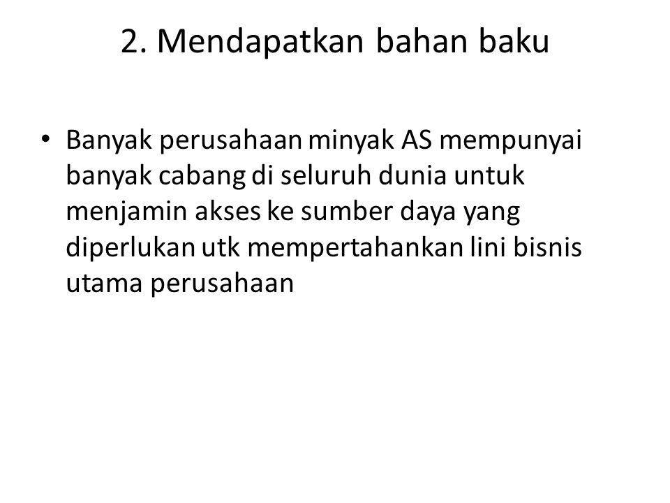 2. Mendapatkan bahan baku