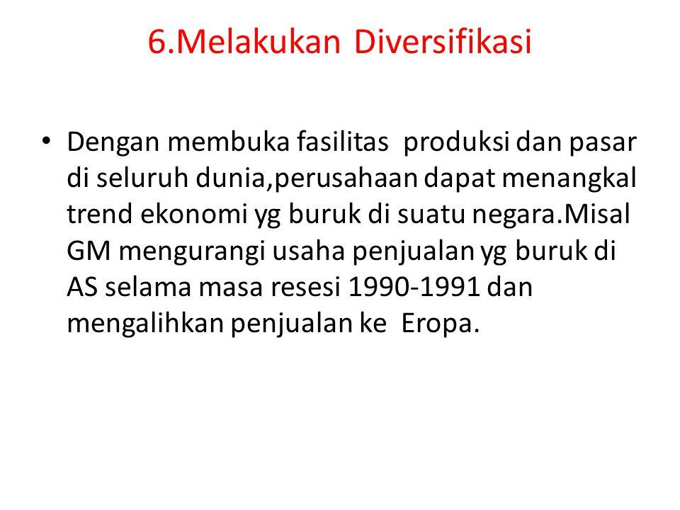 6.Melakukan Diversifikasi