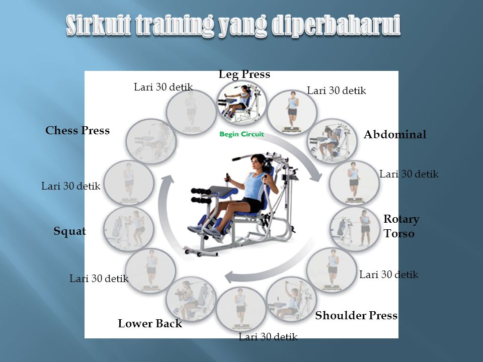 Sirkuit training yang diperbaharui