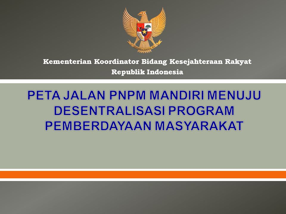 Kementerian Koordinator Bidang Kesejahteraan Rakyat