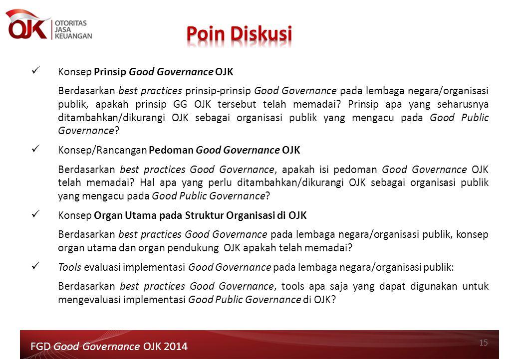 Poin Diskusi FGD Good Governance OJK 2014