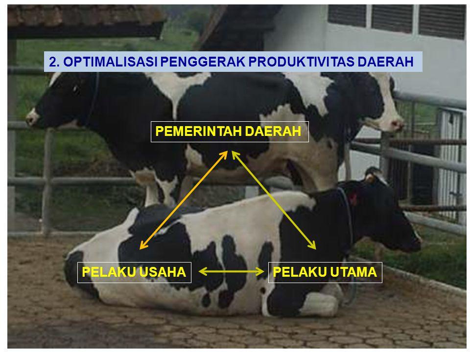 2. OPTIMALISASI PENGGERAK PRODUKTIVITAS DAERAH