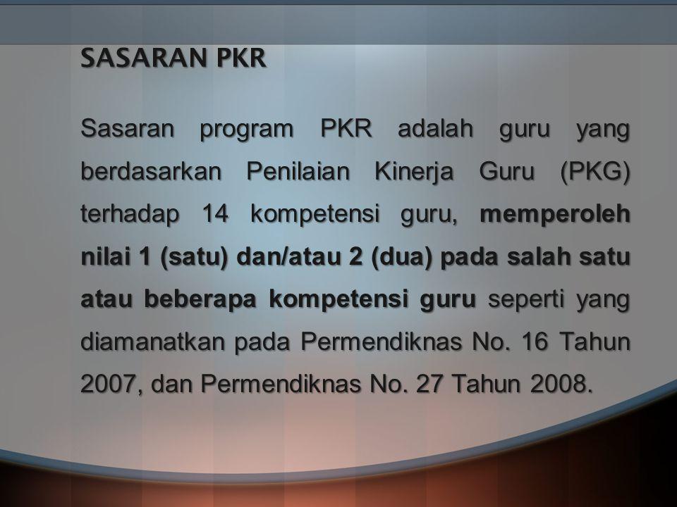 SASARAN PKR