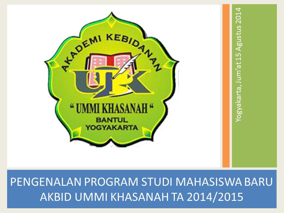 Yogyakarta, Jum'at 15 Agustus 2014