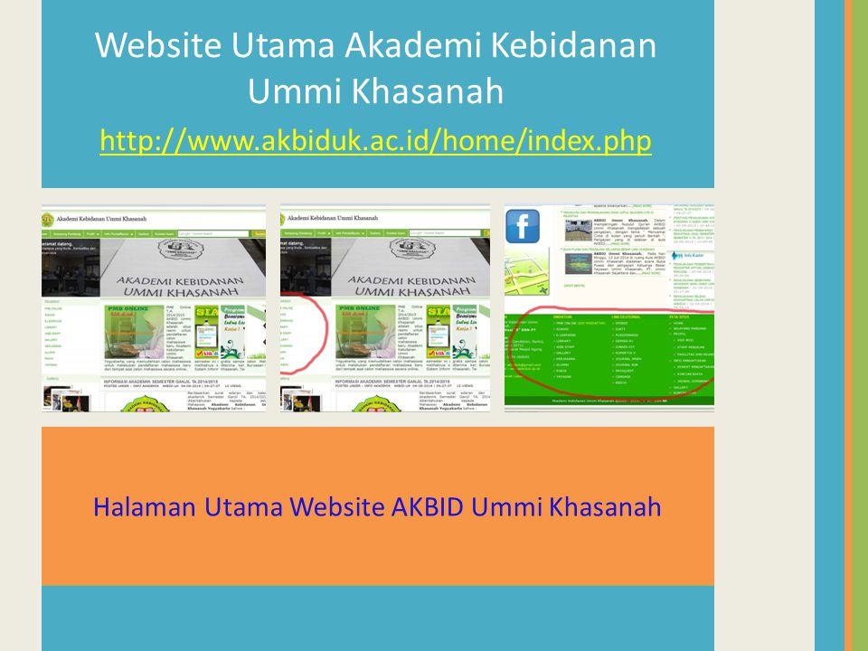 Website Utama Akademi Kebidanan Ummi Khasanah