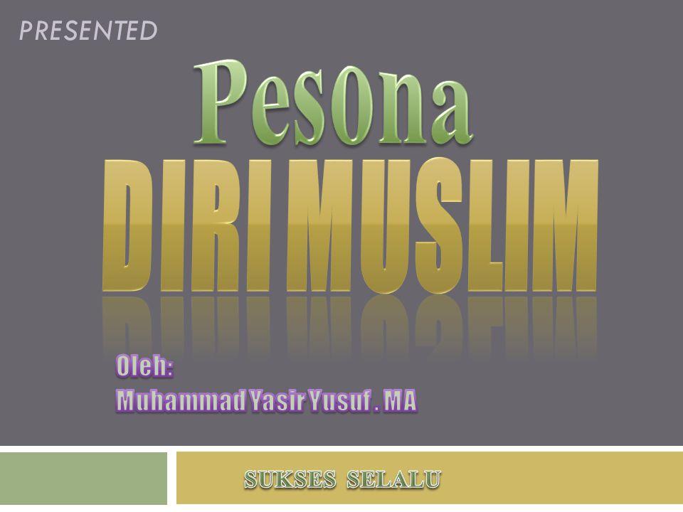 Oleh: Muhammad Yasir Yusuf . MA