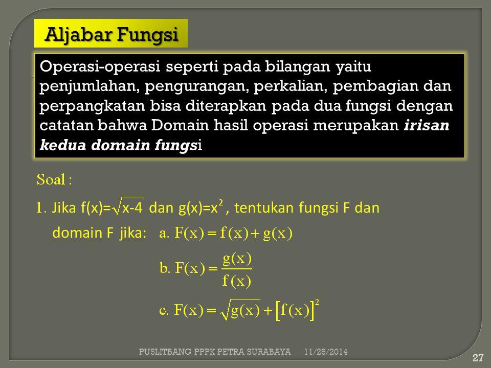 Aljabar Fungsi