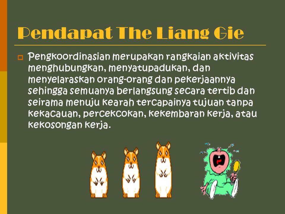 Pendapat The Liang Gie