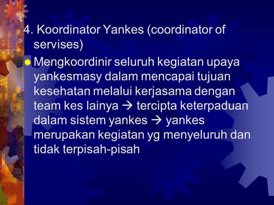 4. Koordinator Yankes (coordinator of servises)