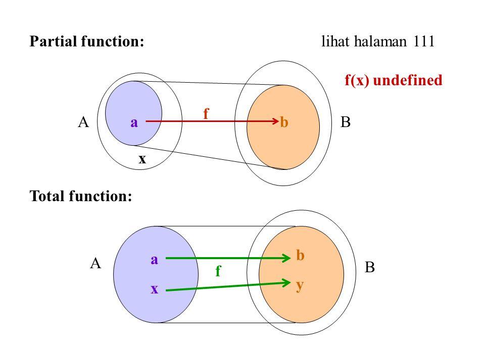 Partial function: lihat halaman 111