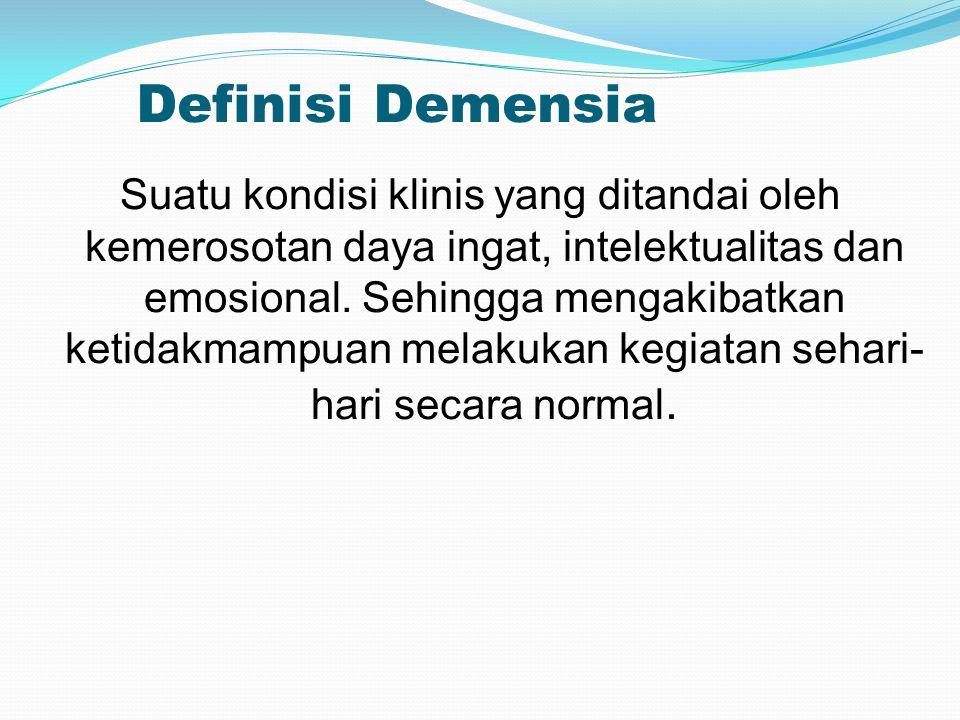 Definisi Demensia
