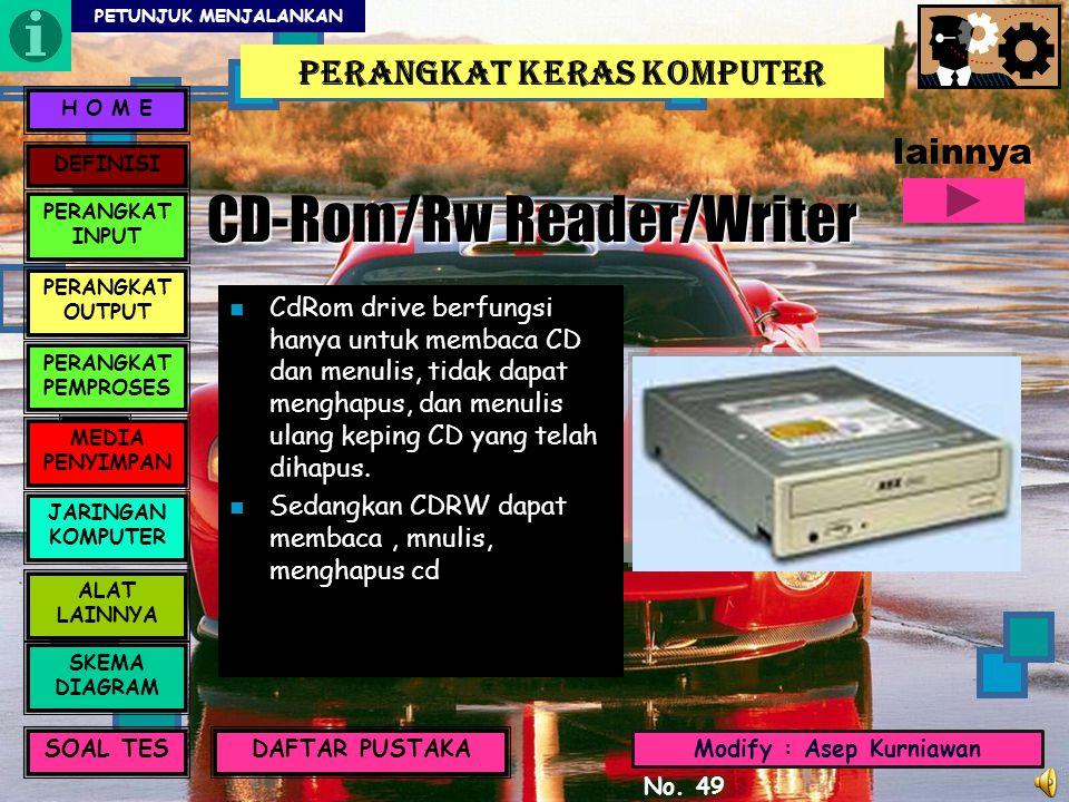 CD-Rom/Rw Reader/Writer