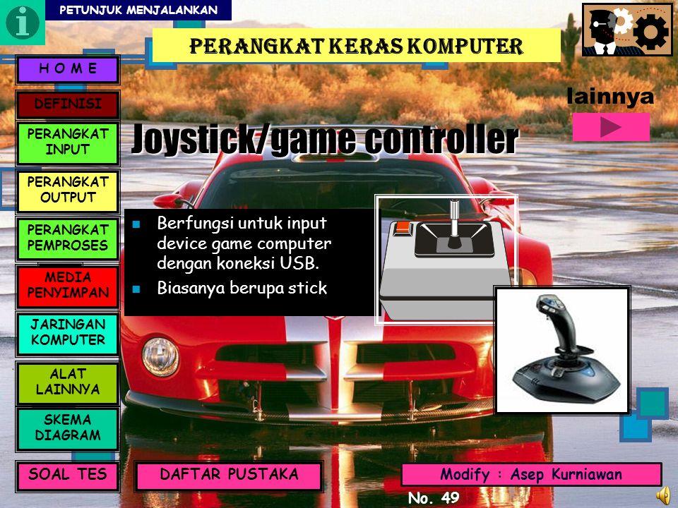 Joystick/game controller