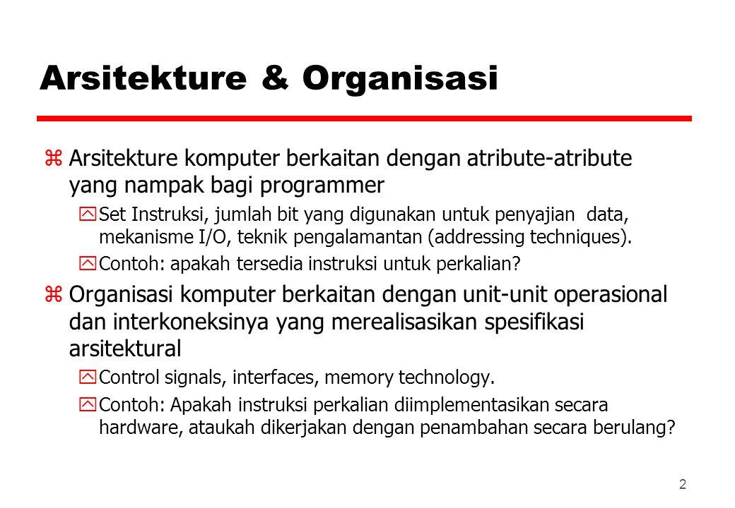 Arsitekture & Organisasi